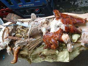 how to cook lechon manok in charcoal